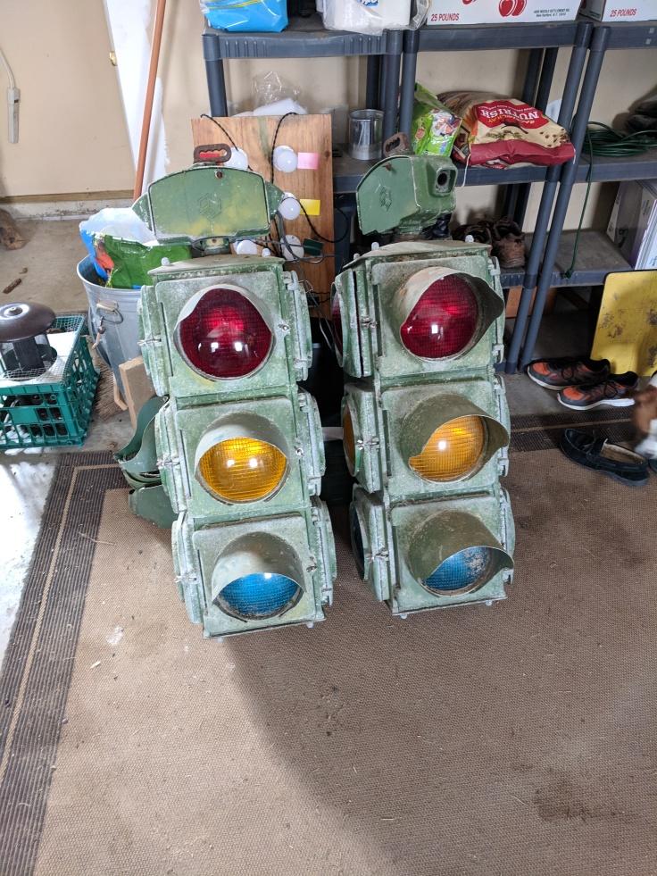 Crouse Hinds Model M 4 Way Signals