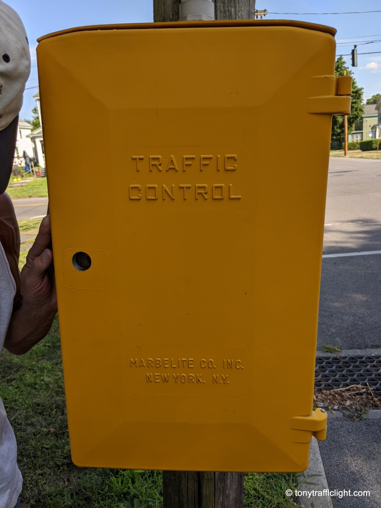 Marbelite Traffic Controller Cabinet