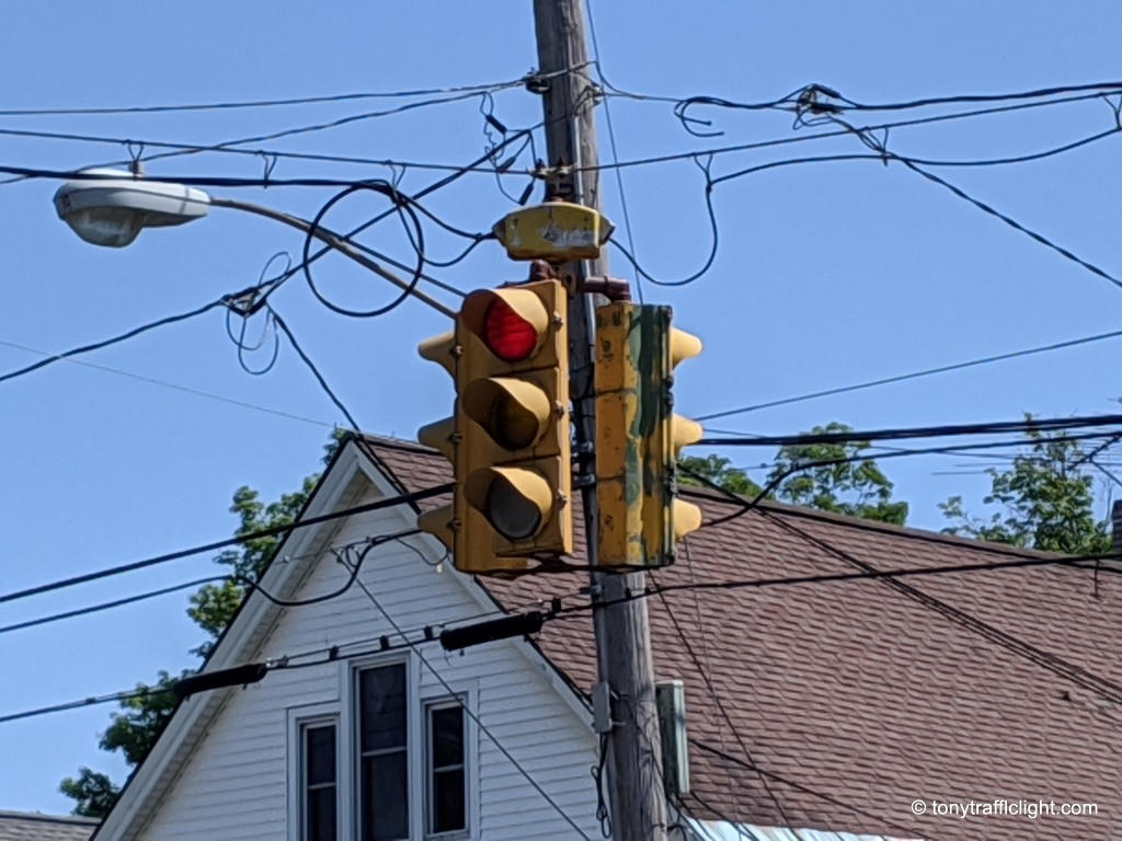 Crouse hinds traffic signal Genesee Street Utica NY